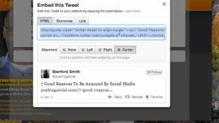 How to Use Twitter's New Embeddable Tweets