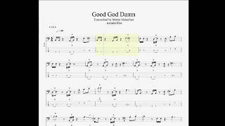 Arcade Fire - Good God Damn (bass tab)