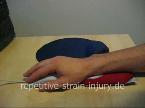 Wristee pad als Handgelenkunterstützung