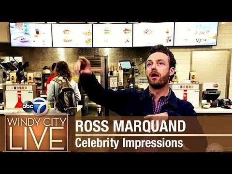 Walking Dead Star Ross Marquand Celebrity Impressions