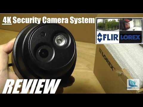 REVIEW: LOREX (FLIR) 4K Ultra HD NVR Security Camera System!