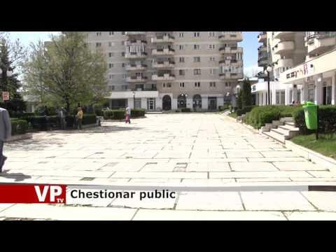 Chestionar public