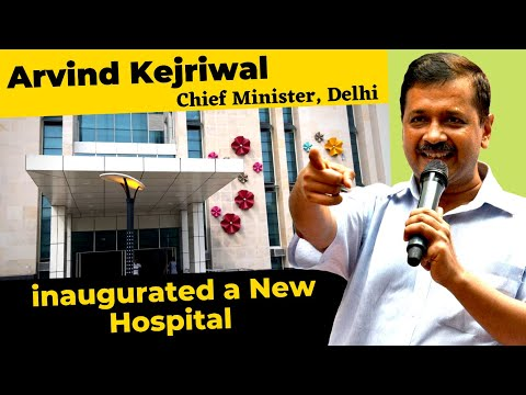 CM Arvind Kejriwal Inaugurated a New Hospital at Ambedkar Nagar | Delhi Model