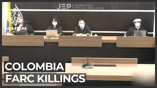 Colombia's peace court grills government over FARC killings