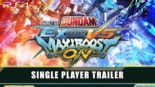 MOBILE SUIT GUNDAM EXTREME VS. MAXIBOOST ON – Single Player Trailer