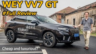 Can the WEY VV7 GT Pull Off Affordable Luxury?