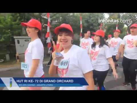 HUT RI Ke 72 di Grand Orchard