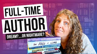 WRITING BOOKS FULL TIME? How to Write More and Keep the Creative Well Full