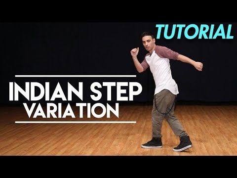 How to do the Indian Step (B-boy Top Rock) (Hip Hop Dance Moves Tutorial) | MihranTV
