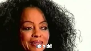 Diana Ross interviewed after the funeral of her husband.