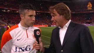 Interview Van Persie na Nederland - Ecuador