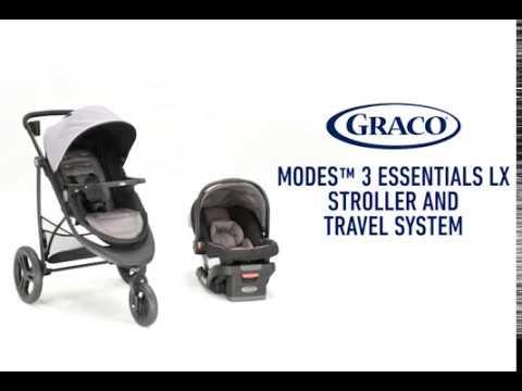 Graco Modes 3 Essentials LX Stroller & Travel System