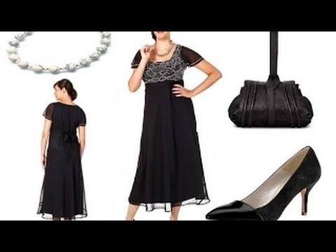 Lange Abendkleider für Mollige Frauen + Outfit Tipps