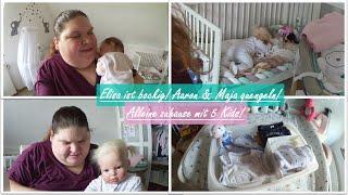 Elisa ist bockig!    Allein zuhause mit 5 Kids!    Reborn Baby Deutsch    Little Reborn Nursery