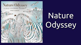 Nature Odyssey By Chris Garver Coloring Book Flip Through