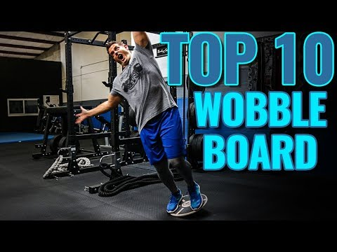 TOP 10 Wobble Board Exercises for Balance & Strength