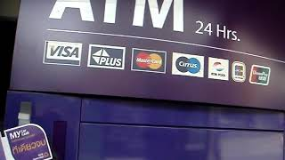 preview picture of video 'Mengambil uang di atm thailand'