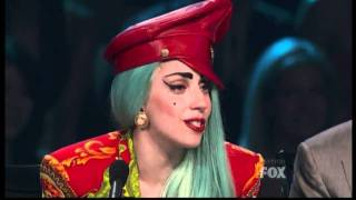 Lady Gaga cries on So You Think You Can Dance