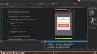 Xamarin Android Tutorial   19   Inserting data into SQL with Web Request