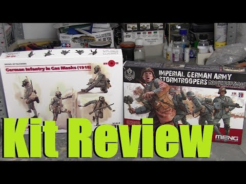 Kit Review: ICM vs Meng - German stormtroopers of WW1 in 1/35 scale