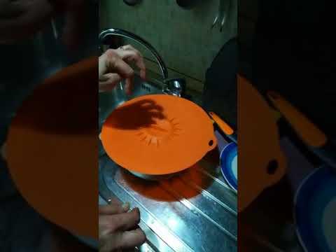Coperchi in silicone Chogan per cottura e conservazione dei cibi .