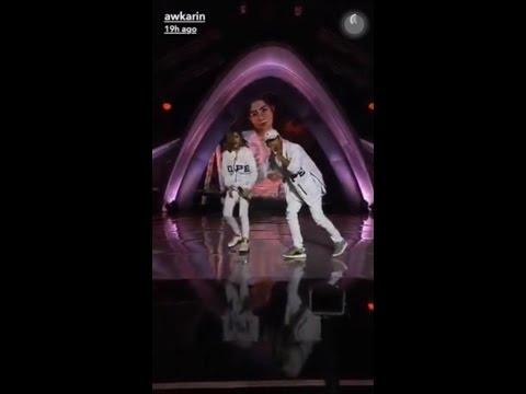 Gokil Awkarin dan Younglex Perform di SCTV