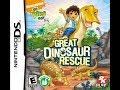 Go Diego Go : Great Dinosaur Rescue nintendo Ds