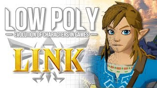 Link - Low Poly (Evolution of Characters in Video Games) - Episode 7