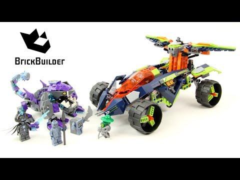 Vidéo LEGO Nexo Knights 70355 : Le turbo 4x4 d'Aaron