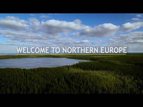 Bem-vindo ao norte da Europa