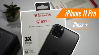 ZAGG iPhone 11 Pro Max x Invisible Shield Glass + Screen Protector