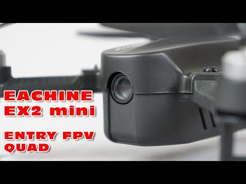 LOS Maiden flight with the Eachine EX2 mini (entry level FPV quad)