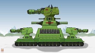 "Tank cartoon ""MONSTER DESTROYER KV 88"" new character presentation"