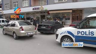 Konya'daki silahla yaralamanın şüphelisi yakalandı