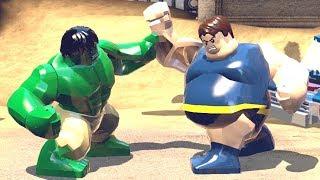 Hulk vs Blob (Funny Game Play) from LEGO Marvel Super Heroes