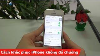 Cách khắc phục iPhone không đổ chuông khi nhận được cuộc gọi