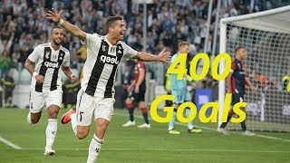 Cristiano Ronaldo has 400 goals in Europe's top five leagues