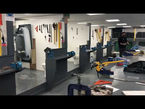 Come And Study A Plumbing Course Here @Able Skills - YouTube