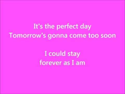 Perfect Day (Song) by Hoku