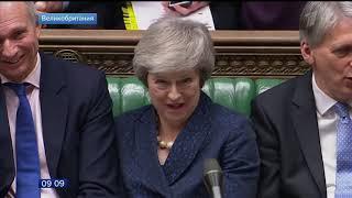 Тереза Мэй удержалась на посту премьер министра Великобритании