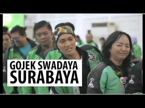 Launching Gojek Swadaya BPJS Ketenagakerjaan Surabaya Tanjung Perak #GojekBPJSTK