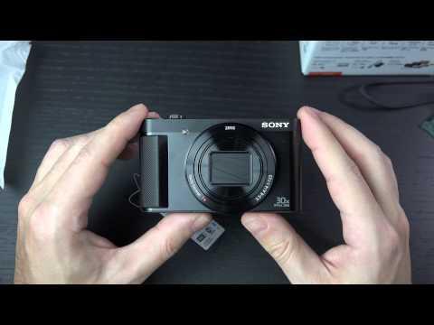 Sony HX90V Unboxing