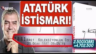 Yılmaz Özdil, Atatürk sayesinde köşeyi dönecek! Tanesi 2500 Lira!!!