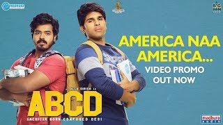 America Naa America Video Promo Song | ABCD Telugu Movie | Allu Sirish | Rukshar Dhillon