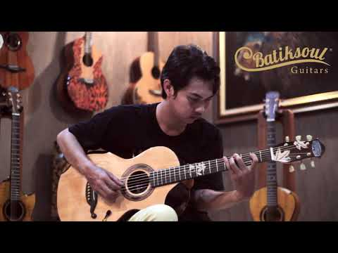 Parlor Dewi Srikandi - Boutique Guitar And Exclusive Handmade Guitar