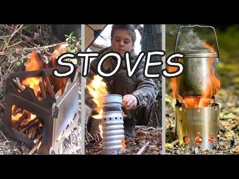 Wood Burning & Alcohol Stoves | Camping | Hiking | Backpacking