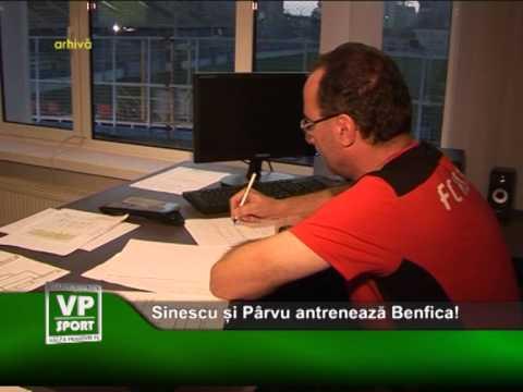 Sinescu și Pârvu antrenează Benfica!