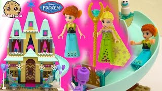 Disney Frozen Fever Arendelle Castle Celebration - Princess Anna Queen Birthday Party Elsa Snowgies