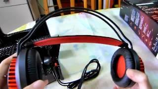 Philips SHG8200 Pro Gaming Headset unboxing