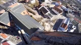 preview picture of video 'Zwiesel von oben am 10.03.2015'